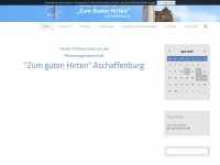 zum-guten-hirten-aschaffenburg.de Webseite Vorschau