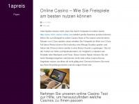 1apreis.org Webseite Vorschau