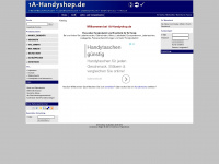 1a-handyshop.de Webseite Vorschau