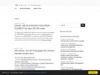 radio-utopie.de Webseite Vorschau