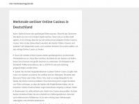 nrw-tourismusmagazin.de Webseite Vorschau