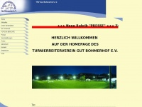 trv-gut-bohmerhof.de Webseite Vorschau