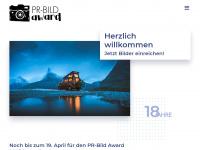 pr-bild-award.de Webseite Vorschau