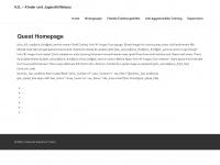 kinderhaus-lebensträume.de Webseite Vorschau