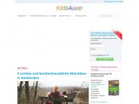 kidsaway.de Webseite Vorschau