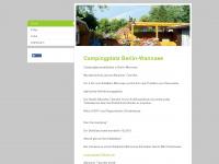 wannsee-camping.de Webseite Vorschau