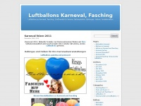 Luftballons-karneval-fasching.de