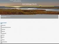 amt-geltingerbucht.de Webseite Vorschau