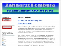 zahnarzthomburg.de