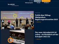 kvz-schule.ch Webseite Vorschau