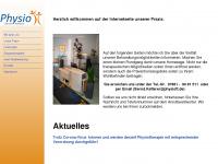 physiott.de Webseite Vorschau