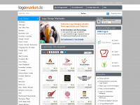 logomarket.de Webseite Vorschau