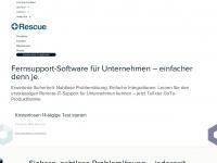 logmeinrescue.com Webseite Vorschau