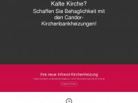 kirchen-heizung.de Webseite Vorschau