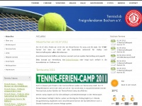 tcf-bochum.de Webseite Vorschau