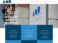amd.at Webseite Vorschau