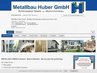 metallbau-huber.eu