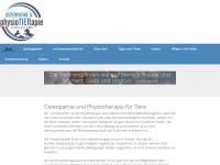 physiotierapie.de Webseite Vorschau