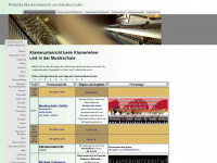 klavierunterricht.org Webseite Vorschau