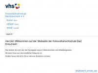 kvhs-kh.de Webseite Vorschau