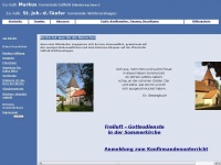 kirche-suelfeld.de Webseite Vorschau