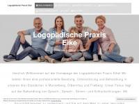 logopaedie-eike.de Webseite Vorschau
