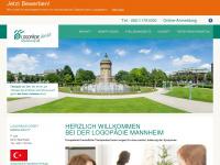 logopaedie-mannheim.de Webseite Vorschau