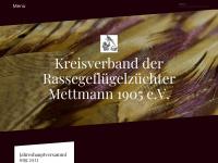 kv-rassegeflügelzüchter-mettmann.de Webseite Vorschau