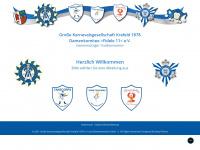1878er.de Webseite Vorschau
