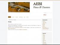 aebi-flutes.com Webseite Vorschau