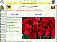 kv-kleingaertner-arnstadt-ilmenau.de Webseite Vorschau