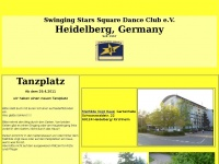 swinging-stars.de Webseite Vorschau