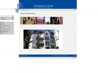 philosfak.uni-freiburg.de Webseite Vorschau