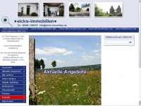 eicks-immobilien.de Webseite Vorschau