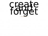 create-and-forget.org