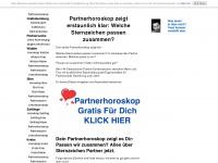 sternzeichen-partnerhoroskop.com Webseite Vorschau