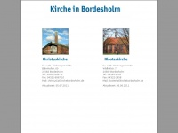 kirchebordesholm.de Webseite Vorschau