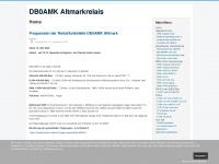 db0amk.de Webseite Vorschau