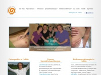 physiotherapie-in-gohlis.de Webseite Vorschau