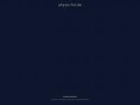 physio-frei.de Webseite Vorschau