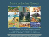 kinderbuchillustration.com Webseite Vorschau