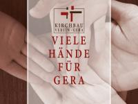 kirchbauverein-gera.de Webseite Vorschau