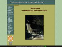 kirche-zodel.de Webseite Vorschau