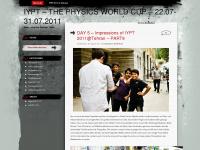iypt.wordpress.com Webseite Vorschau