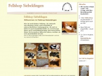 fellshop-siebeldingen.de Webseite Vorschau