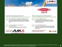 ama.at Webseite Vorschau