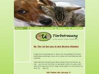 1a-tierbetreuung.de Webseite Vorschau