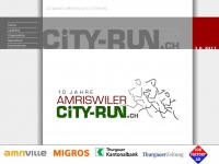 amriswiler-city-run.ch Webseite Vorschau