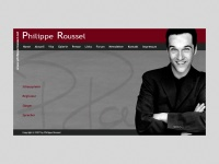 philipperoussel.net Webseite Vorschau