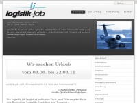 logistik-job.de Webseite Vorschau